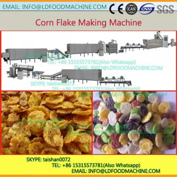 Fully Automatic Breakfast Cereal Corn Puff Corn Flakes make machinery with 20 Years Of Experience