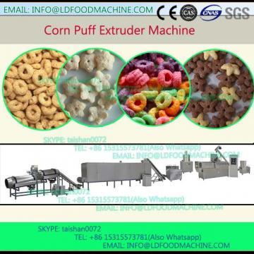 Jinan 250-300kg/h Output Corn Chips  , make machinery