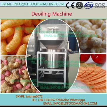 Deoiling machinery for puffed food