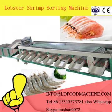 Stainless steel protect cover shrimp grading machinery for prawn seafood, sea food weight grader