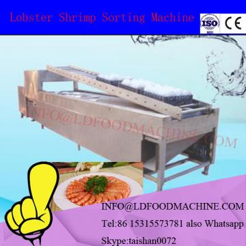 Equipped cleaing LD lobster washing grading machinery shrimp classifier machinery