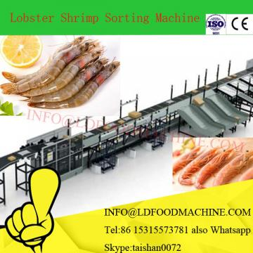 Hot sale shrimp sorting machinery quick freezing line/sea food processing machinery