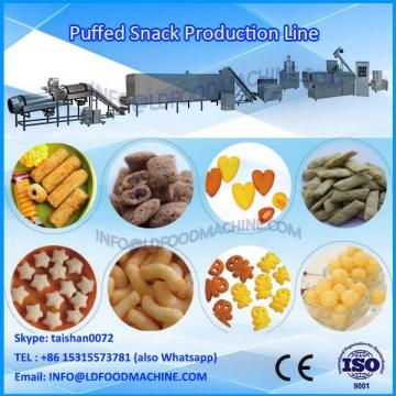 Palestin Chocolate Filling Snacks machinerys Inflating Snacks Process Line
