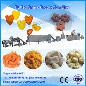 puffs food machinery / pops snack make machinery price