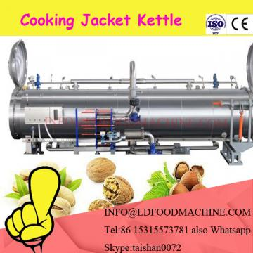 Economic semi automatic gas Cook mixer with heater for peanut brittle/nougat/confectionery