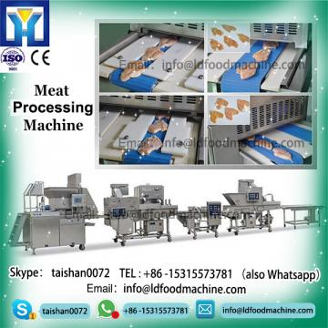 KFC Chicken meat chicken nuggets frying production line, nuggets processing line