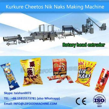 Automatic fried cheetos,kurkure,Nik Naks,corn curls process line/make mchine