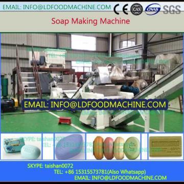 Capacity 300-800kg/h Double Screw LD Plodder Soap Plant