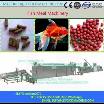 High quality and efficiency continuous fish feed pellet processing machinery