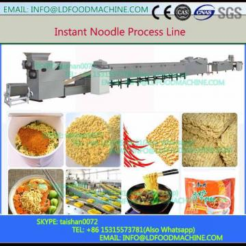 Fried instant noodle machinery complete line from mixer topackmnachine
