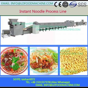 Automatic high output fried instant  production line
