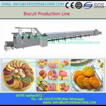 Automatic Two Color Sandwich make machinery With Packaging  Sandwich Biscuit Maker