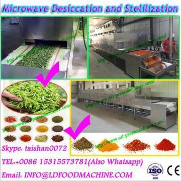 Easy microwave operation conveyor dryer