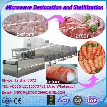 Efficient microwave Vegetable Microwave Drying machinery