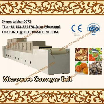 Industrial microwave continuous conveyor belt LLDe microwave latex mattress pillows drying equipment