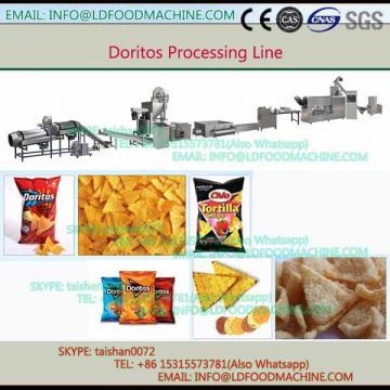 Fully automatic fried doritos make extruder machinery