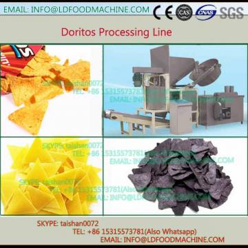 crisp round rice chips extruder processing line
