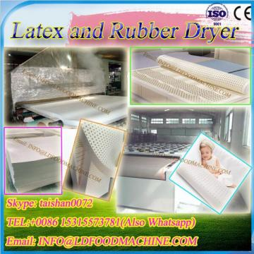 DWT-1.2-10 Microwave Dryer machinery/Industrial continuous conveyor belt LLDe microwave Latex products/ latex pillows drying equipment