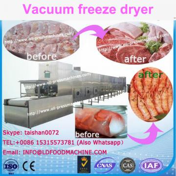 Pharmaceutical LD freeze drier machinery for lyophilized injection powder manufacture with SIP and CIP system