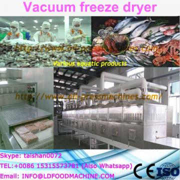 hot sale food industry freeze dryer lyophilizer for fish and chicken