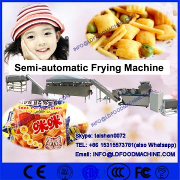 Peanut Automatic Gas Fired Batch Fryer machinery For Snack Pellet