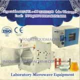 Microwave puffing system for Graphite Oxide/Polycarbonate Composites powder