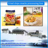 automatic fried wheat flour pillow shape snacks food processing line