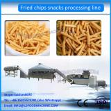 Extrusion fried pellet snacks processing line fried dough food machinery