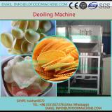 High speed peanut oil remove machinery for fried food