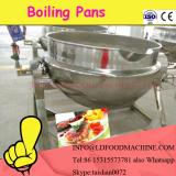 high quality double layered jacketed kettle