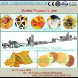 automatic crisp triangle corn chips snacks machinery processing line
