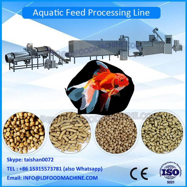 High quality Floating Fish Feed Pellet machinery / animal fish feed extruder machinery #1 image