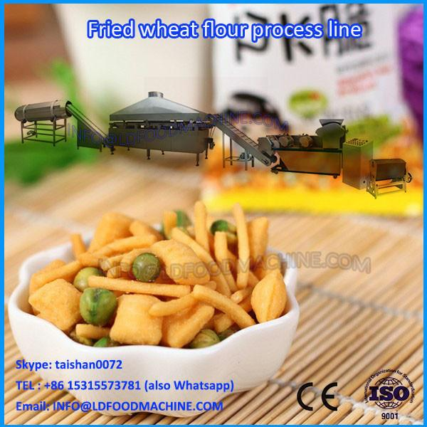 2017 New Wheat Flour Snacks Making Machine Fried Dough Twist Process Line #1 image