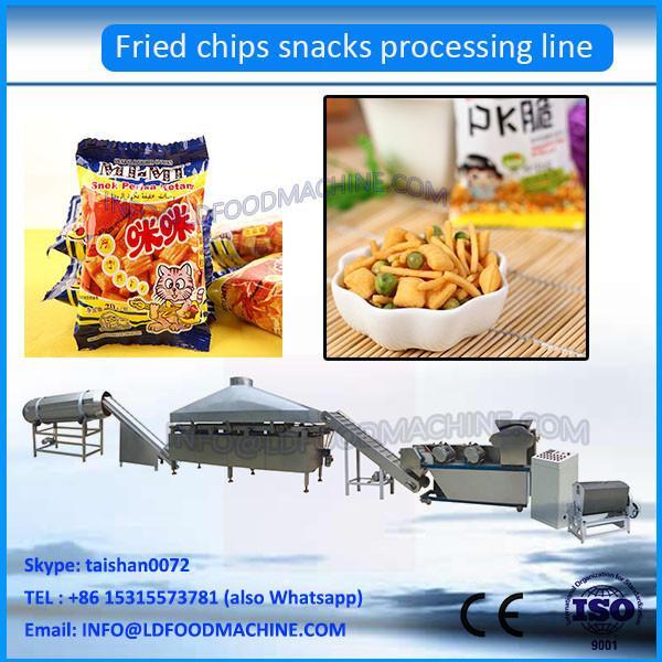2017 Fried Flour  crisp chip extruder machinery process line #1 image