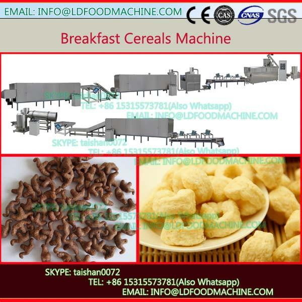 Extruded corn flakes(breakfast cereals) machinery/processing line/make machinery with extrusion Technology #1 image