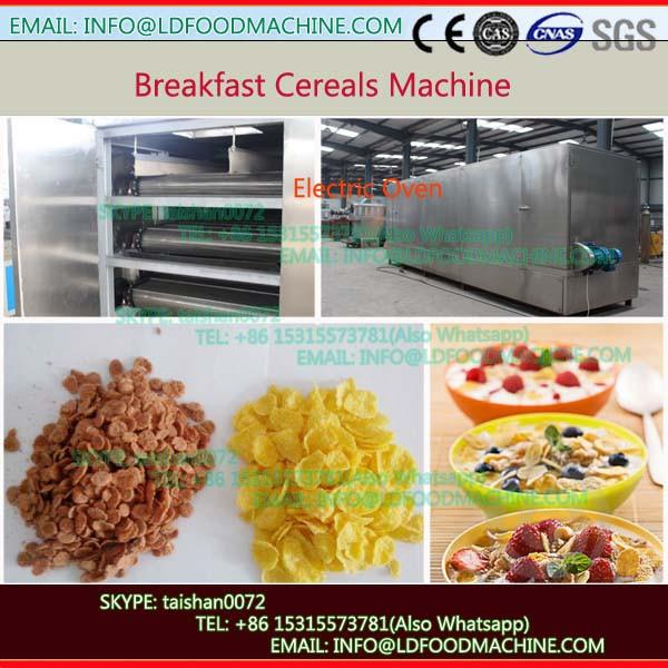 120-200kg/h Twin Screw Puffy Inflating Breakfast Cereal Snacks Food machinery #1 image