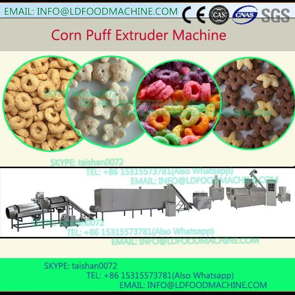 Puffed/inflated snacks extruder food machinery/corn snack cheese ball make plant #1 image