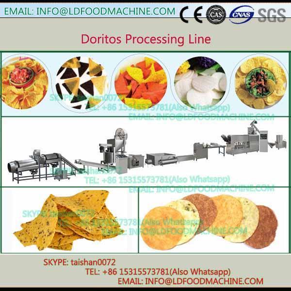 Corn tortilla chips snacks continuous belt fryer, Doritos chips frying maker #1 image