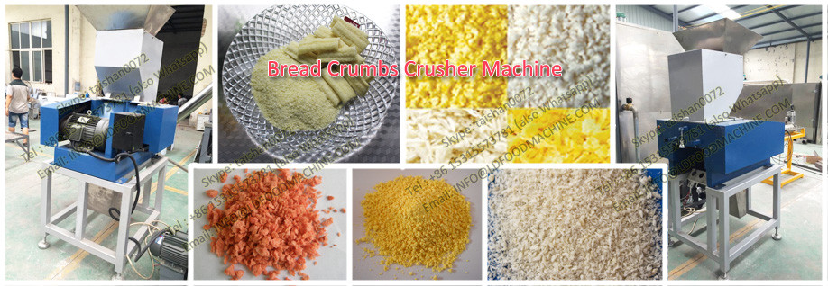 Best price bread crumbs processing line