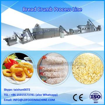 new conditino and continuous crumbs snack bars and chicken making machine