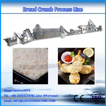 China supplier snack extruder making machine equipment Bread crumb production line progress