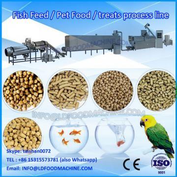 twin screw dog pet food pellet extruder machinery