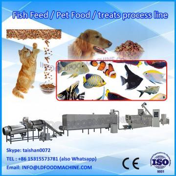 Double screw fish food pellet machinery line