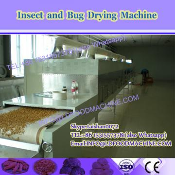 Insect dehydration equipment 50kw belt type microwave dryer machine for tenebrio drying