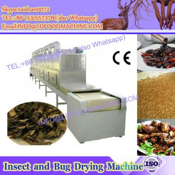 Big capacity vacuum insects and worms microwave dryer