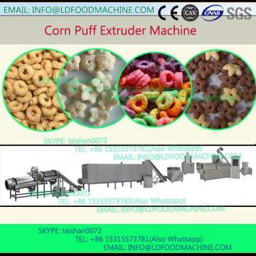 Maize meal puffed snack processing machinery