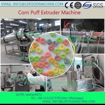 corn starch puffed snacks food make production machinery