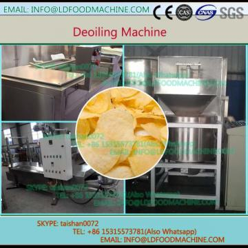 Stainless steel peanut de-oiling machinery