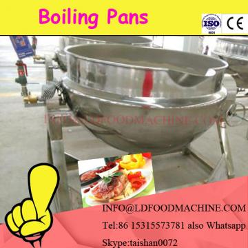 L Capacity Electric Oil Gas Jacketed Cook Kettle