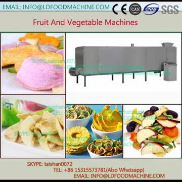 Continuous snacks drying machinery